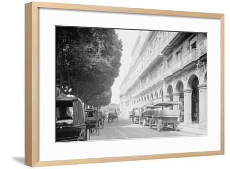 Hotel Pasaje, Havana, Cuba--Framed Art Print