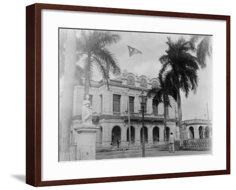 Theatre, Cienfuegos, Cuba--Framed Art Print