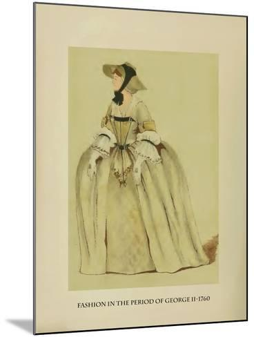Fashion in the Period of George II-Lewis Wingfield-Mounted Art Print