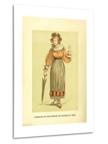 Fashion in the Period of George IV-Lewis Wingfield-Metal Print