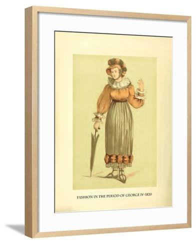 Fashion in the Period of George IV-Lewis Wingfield-Framed Art Print