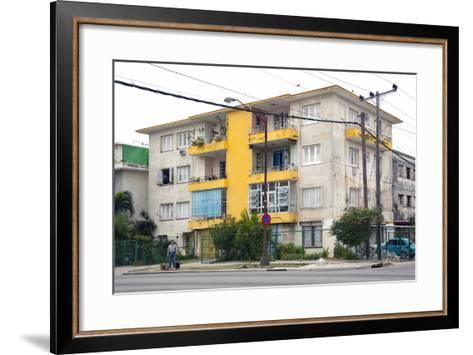 Apartment Building in the Miramar Section-Carol Highsmith-Framed Art Print