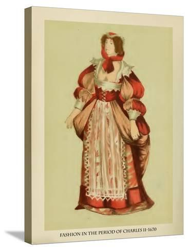 Fashion in the Period of Charles II-Lewis Wingfield-Stretched Canvas Print