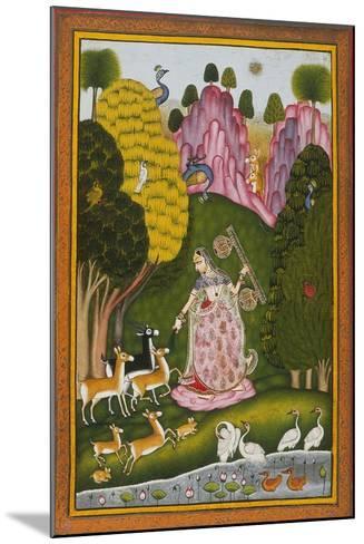 Todi Ragini, Second Wife of Hindol Raga--Mounted Art Print