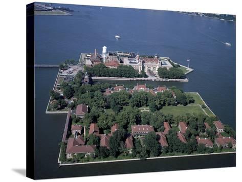 Ellis Island-Carol Highsmith-Stretched Canvas Print