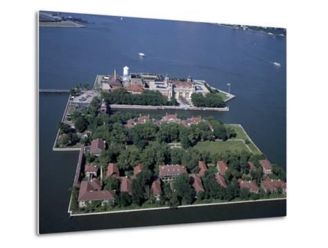 Ellis Island-Carol Highsmith-Metal Print