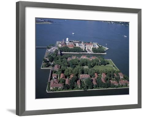 Ellis Island-Carol Highsmith-Framed Art Print