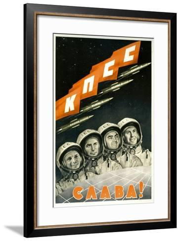 Long Live the Communist Party of the Soviet Union--Framed Art Print