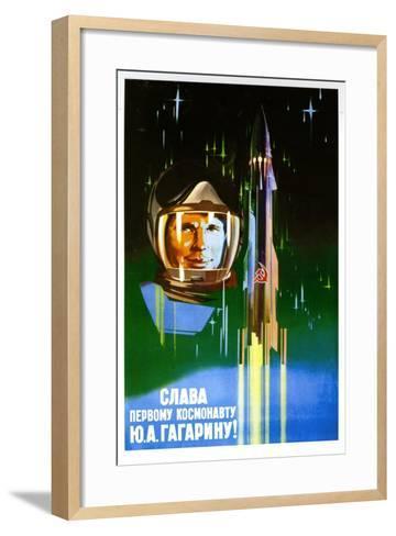 Long Live the First Astronaut--Framed Art Print