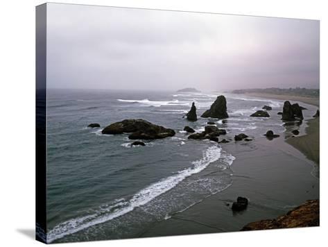 Rocky Oregon Coast-Carol Highsmith-Stretched Canvas Print