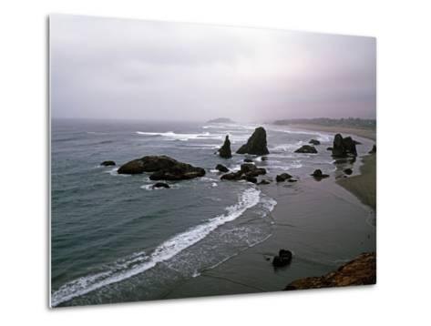 Rocky Oregon Coast-Carol Highsmith-Metal Print
