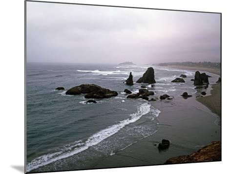 Rocky Oregon Coast-Carol Highsmith-Mounted Photo