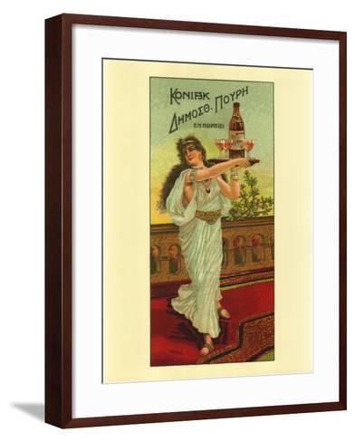 Congnac - Dinosoth Pouri of Pireus--Framed Art Print