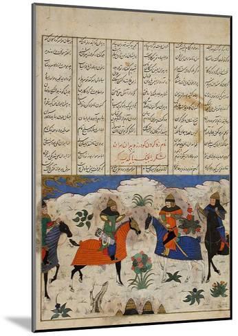 Meeting of Two Muslim Generals--Mounted Art Print