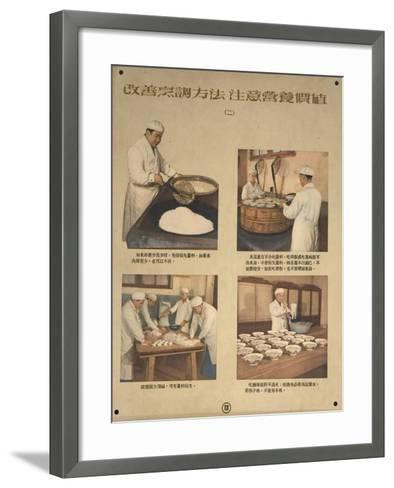 Preserve Nutriments in Food by Preparing it Correctly--Framed Art Print
