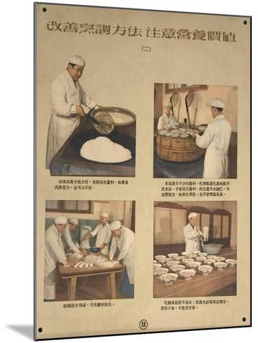 Preserve Nutriments in Food by Preparing it Correctly--Mounted Art Print