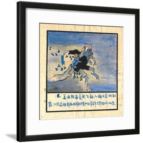 Condemnation of the United States for its Biological Warfare--Framed Art Print