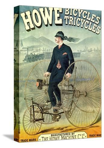 Howe, Bicycles, Tricycles-F. Appel-Stretched Canvas Print