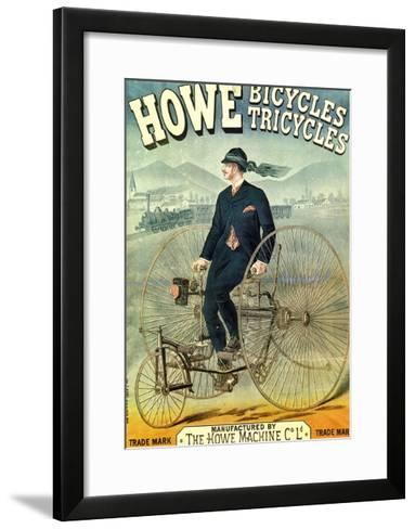 Howe, Bicycles, Tricycles-F. Appel-Framed Art Print