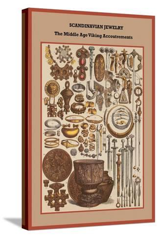 Scandinavian Jewelry the Middle Age Viking Accoutrements-Friedrich Hottenroth-Stretched Canvas Print
