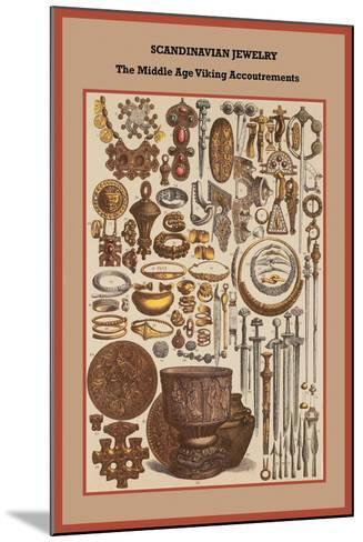 Scandinavian Jewelry the Middle Age Viking Accoutrements-Friedrich Hottenroth-Mounted Art Print