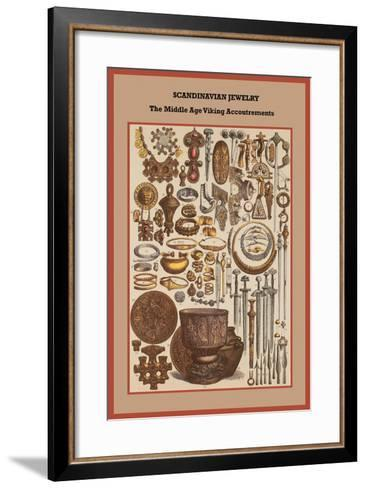Scandinavian Jewelry the Middle Age Viking Accoutrements-Friedrich Hottenroth-Framed Art Print