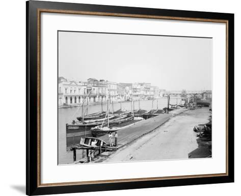 Along the Matanzas River, Matanzas, Cuba--Framed Art Print