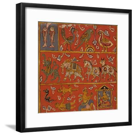 Symbolic Animals--Framed Art Print
