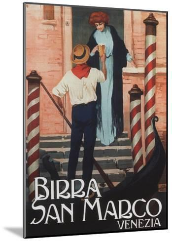 Birra San Marco-Malerba -Mounted Art Print