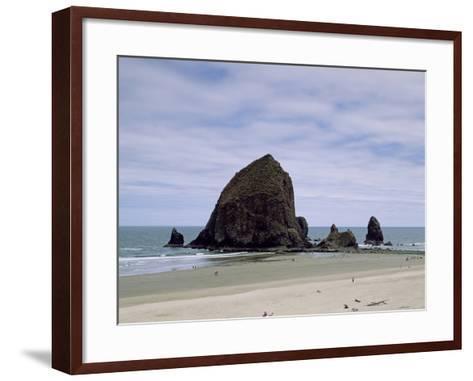 Oregon's Rocky Pacific Coast-Carol Highsmith-Framed Art Print