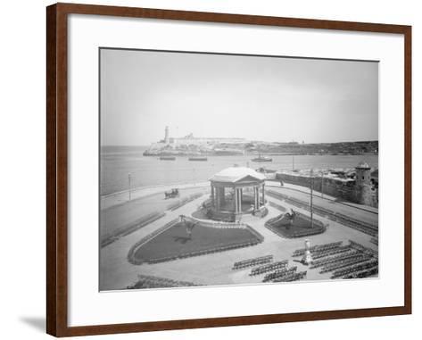 Malecon and El Morro, Havana, Cuba--Framed Art Print