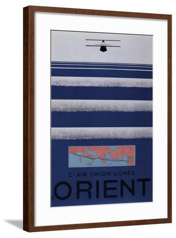 Air Orient--Framed Art Print