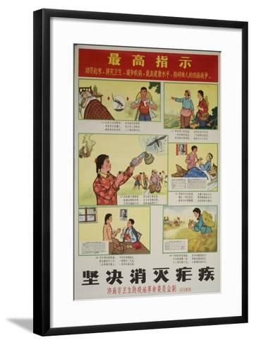 Care, Treatment and Prevention of Malaria--Framed Art Print