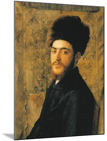 Man with Fur Hat-Isidor Kaufmann-Mounted Art Print