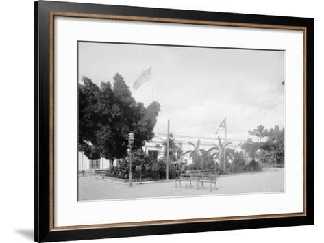 Government Building, Santiago De Cuba--Framed Art Print