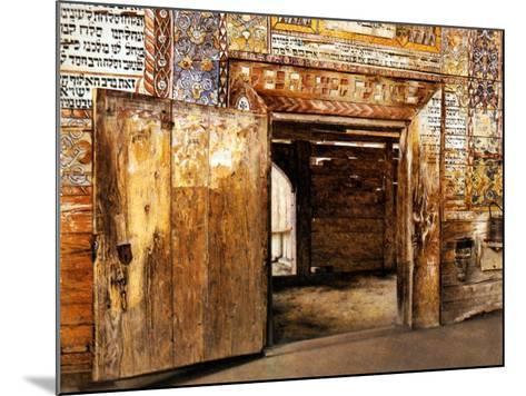 Portal of the Rabbis-Isidor Kaufmann-Mounted Art Print
