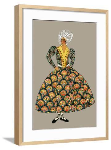 Fishmonger of Marseille-Elizabeth Whitney Moffat-Framed Art Print