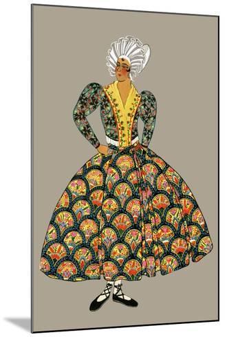 Fishmonger of Marseille-Elizabeth Whitney Moffat-Mounted Art Print