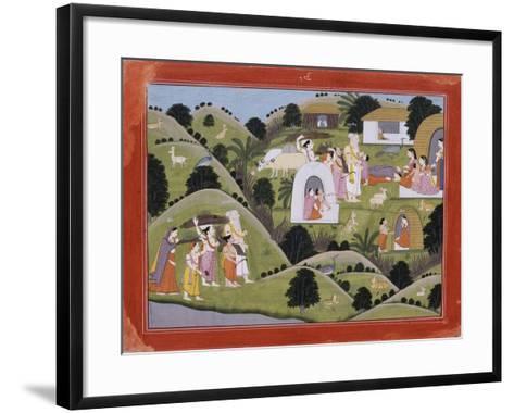 Hermitage of Valmik--Framed Art Print