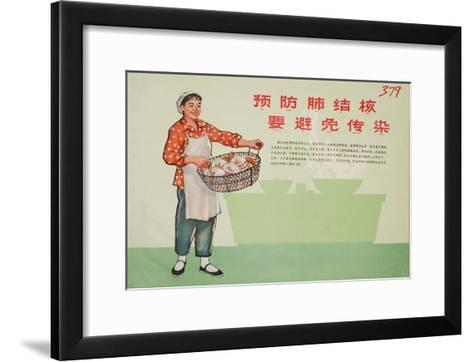 Be Clean in Cooking - Responsible Restaurateur--Framed Art Print