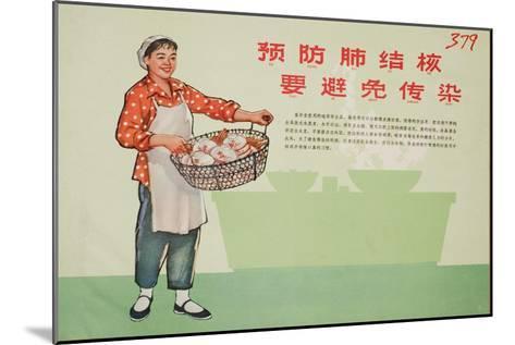 Be Clean in Cooking - Responsible Restaurateur--Mounted Art Print
