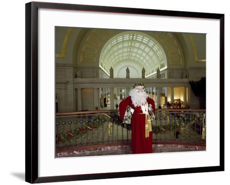 Santa Claus at the Library-Carol Highsmith-Framed Art Print