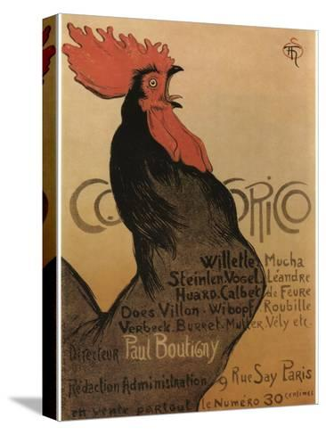 Coccorico-Theophile Alexandre Steinlen-Stretched Canvas Print