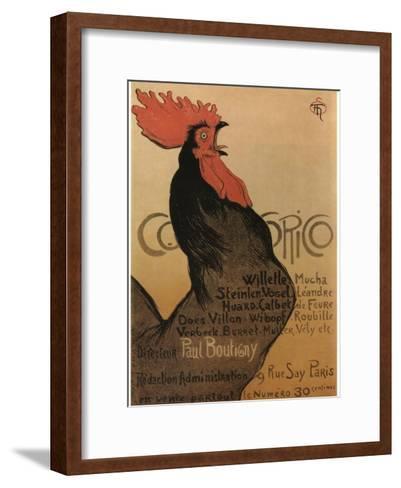 Coccorico-Theophile Alexandre Steinlen-Framed Art Print