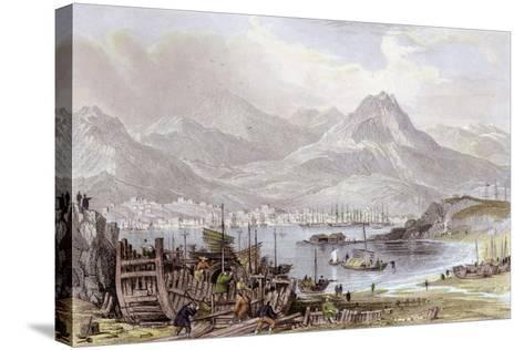 Hong Kong Kowloon-Thomas Allom-Stretched Canvas Print