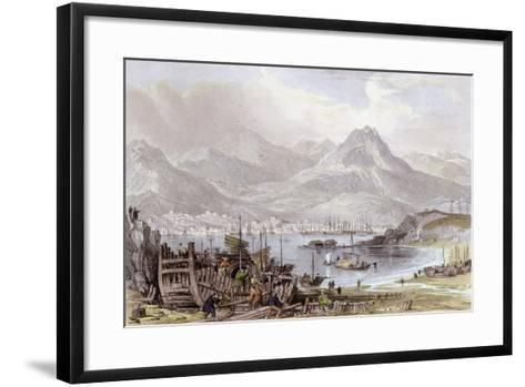 Hong Kong Kowloon-Thomas Allom-Framed Art Print