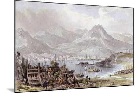 Hong Kong Kowloon-Thomas Allom-Mounted Art Print