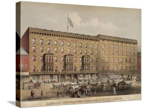 American House Hotel - Hanover Street-Lewis Rice-Stretched Canvas Print