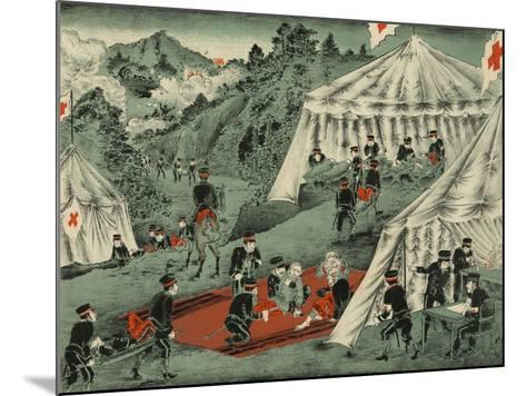 Japanese Red Cross Cares for the Wounded--Mounted Art Print