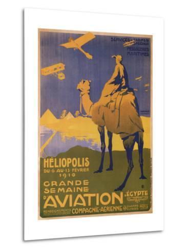 Grande Semaine D'Aviation- Harald-Metal Print